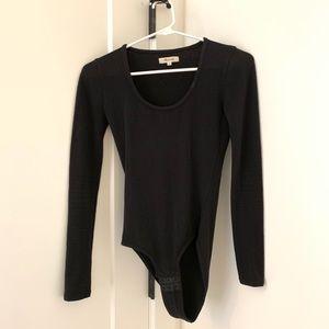 Madewell black bodysuit